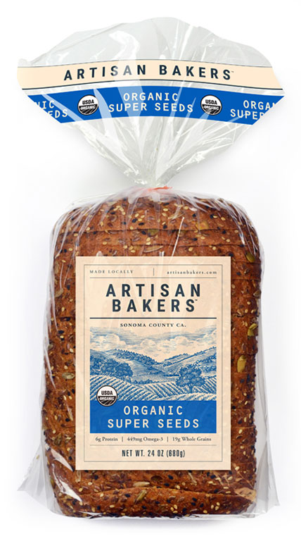 Artisan Bakers: Organic Super Seed Bread