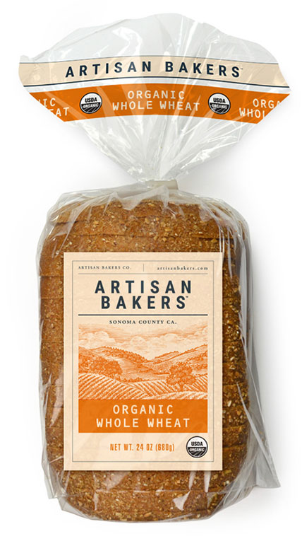 Artisan Bakers: Organic Whole Wheat Bread